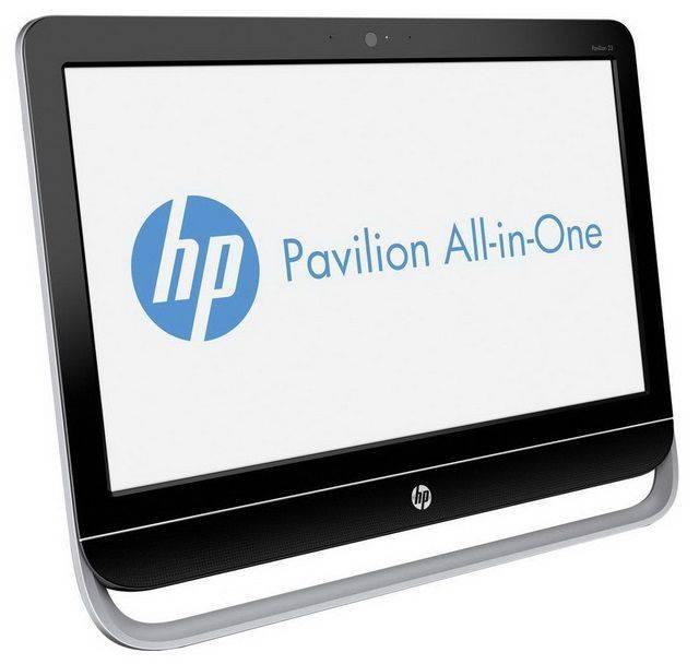"Моноблок 23"" HP Pavilion 23-g104nr черный/серебристый - фото 2"