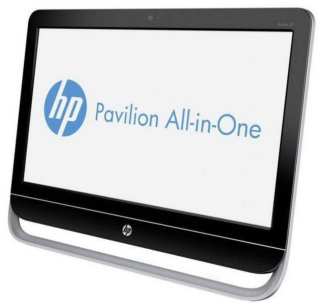 "Моноблок 23"" HP Pavilion 23-g104nr черный/серебристый - фото 3"