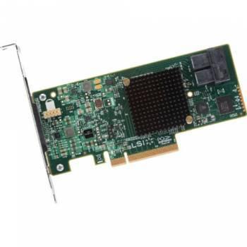 Контроллер LSI 9341-8I SGL 12Gb / s RAID 0 / 1 / 10 / 5 / 50 8i-ports (LSI00407)