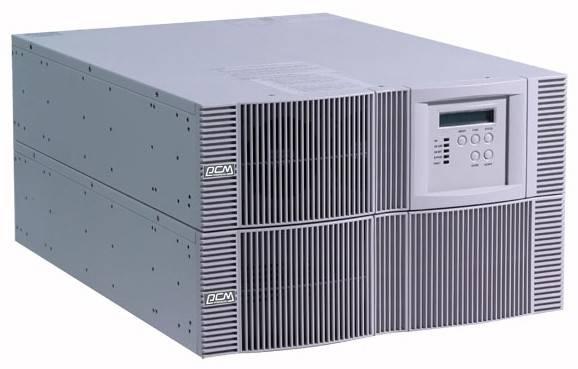 ИБП Powercom Vanguard VGD-10K RM (батарейный блок 97721 выписывается отдельно) 7000Вт серый - фото 1