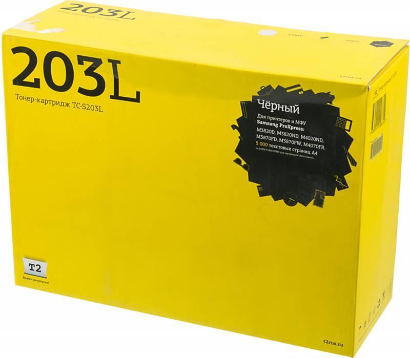 Тонер Картридж T2 TC-S203L MLT-D203L черный - фото 1