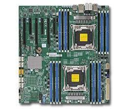 Серверная материнская плата Soc-2011 SuperMicro MBD-X10DAi-O eATX Ret