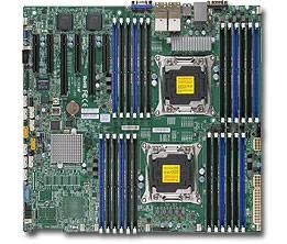 Серверная материнская плата Soc-2011 SuperMicro MBD-X10DRI-LN4+-O EEATX
