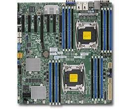 Серверная материнская плата Soc-2011 SuperMicro MBD-X10DRH-C-O eATX
