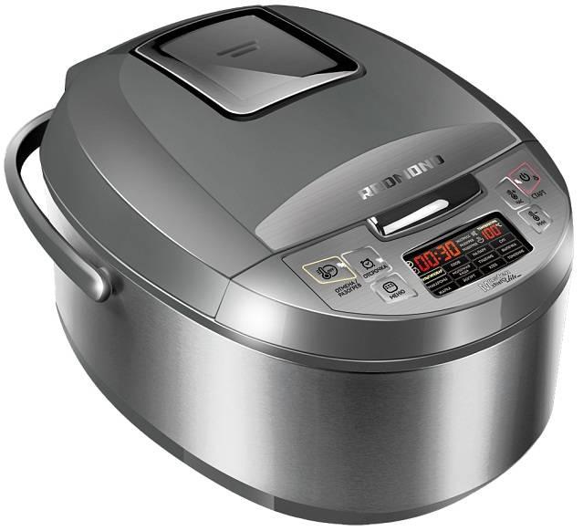 Мультиварка Redmond RMC-M4510 серый/серебристый - фото 1