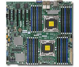 ��������� ����������� ����� Soc-2011 SuperMicro MBD-X10DRC-LN4+-O EEATX Ret