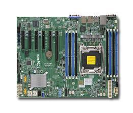 Серверная материнская плата Soc-2011 SuperMicro MBD-X10SRI-F-O ATX - фото 1