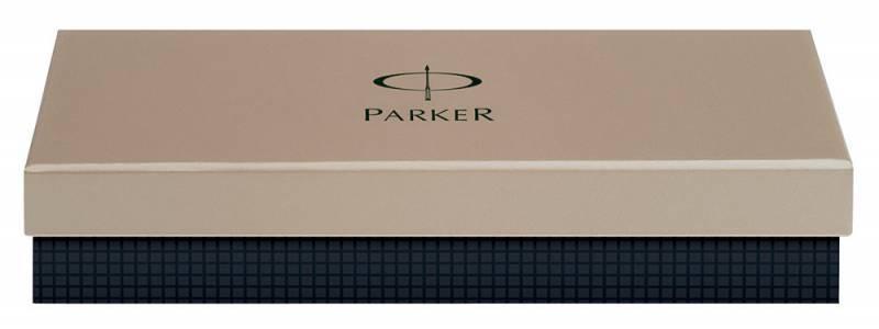 Ручка перьевая Parker Urban Premium Vacumatic F206 Silver-Blue Pearl (1906868) - фото 2