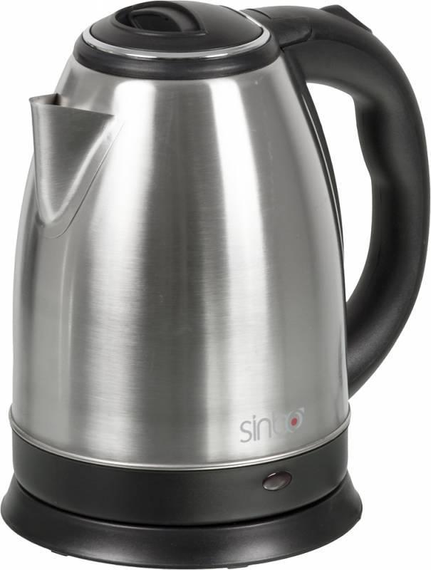 Чайник электрический Sinbo SK 7320  1800Вт 1.8л серебристый - фото 1