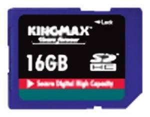 Флеш карта SDHC 16Gb class4 Kingmax