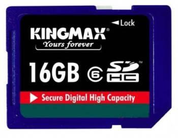 Флеш карта SDHC 16Gb class6 Kingmax