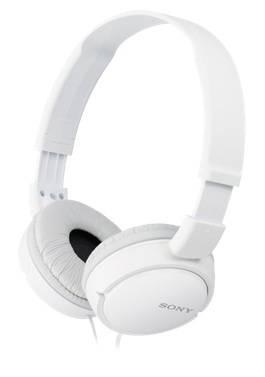 Наушники Sony MDR-ZX110 белый