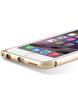 Чехол Melkco Q Arc Aluminum, для Apple iPhone 6, золотистый (APIP6FALQAGDME) - фото 3