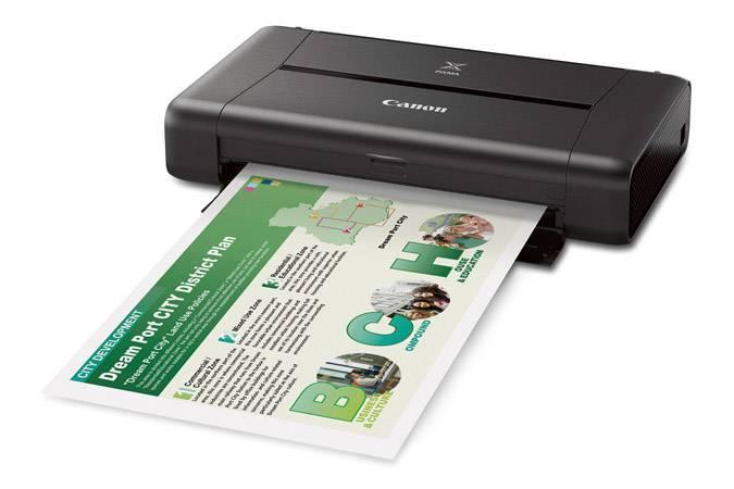 Принтер Canon Pixma IP110 черный (9596B009) - фото 3