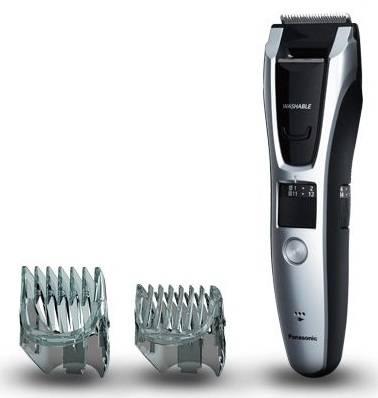Машинка для стрижки Panasonic ER-GB70-S520 серебристый/черный - фото 1