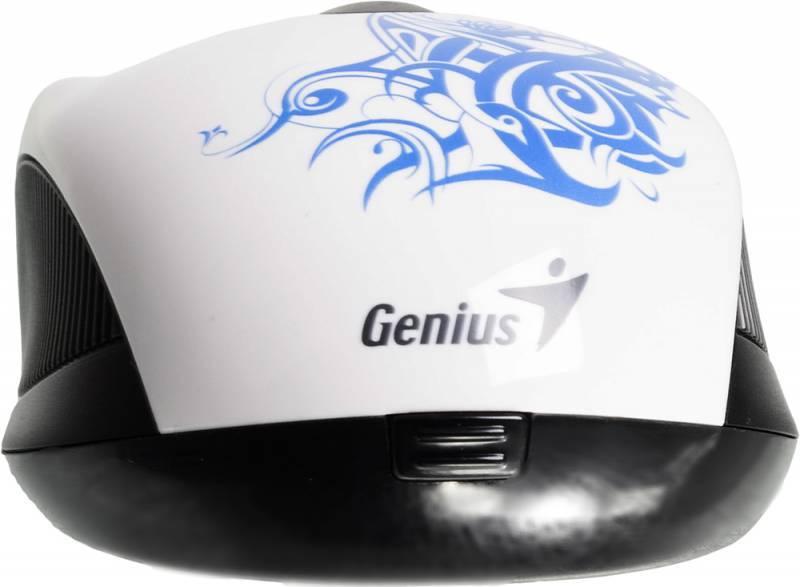 Мышь Genius NX-6510 белый/Tattoo - фото 5