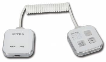 Массажер Supra MBS-112 белый / серебристый