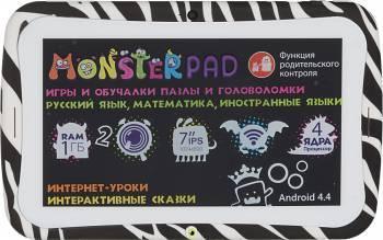 "Планшет 7"" Turbo MonsterPad 8 белый/черный"