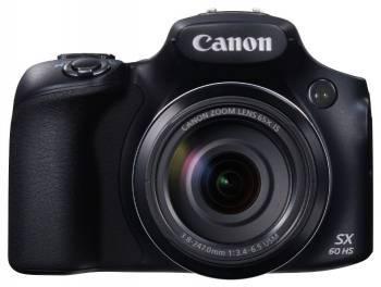 Фотоаппарат Canon PowerShot SX60 HS черный (9543B002)