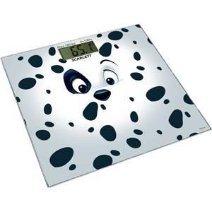 Весы напольные электронные Scarlett SC-BSD33E001 белый/рисунок - фото 1