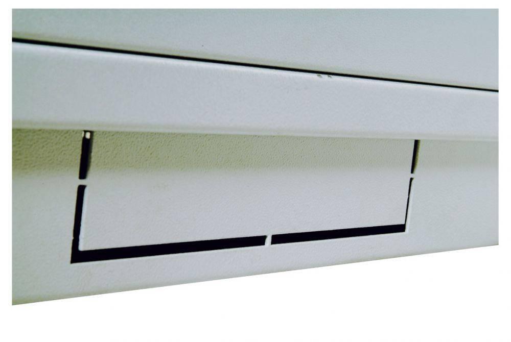 Шкаф коммутационный ЦМО ШТК-М-27.6.10-1ААА 27U серый - фото 1
