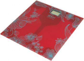Весы напольные электронные Sinbo SBS 4429 красный