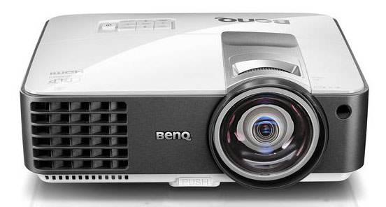 Проектор Benq MX806ST бело-серый - фото 1