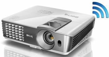 Проектор Benq W1070+ белый и серебристый