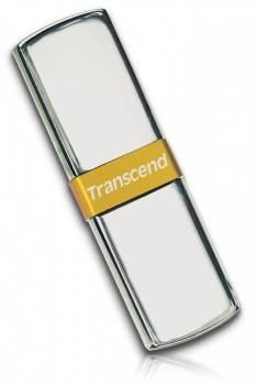 Флеш диск 8Gb Transcend Jetflash V85 USB2.0 серебристый / золотистый