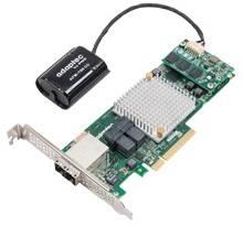 Контроллер Adaptec ASR-8885Q SGL RAID 0 / 1 / 1E / 10 / 5 / 6 / 50 / 60 8i / 8e-ports 1Gb (2277100-R)