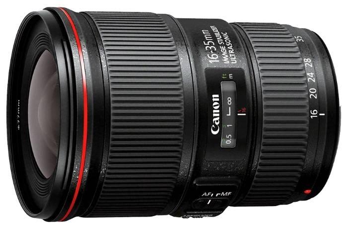 Объектив Canon EF IS USM 16-35mm f/4L (9518B005) - фото 1