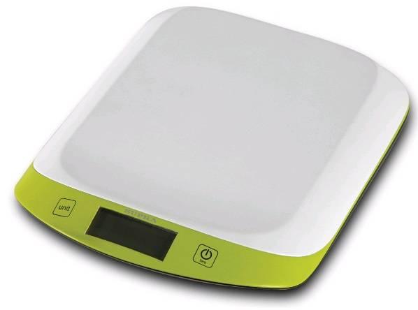 Кухонные весы Supra BSS-4098 зеленый - фото 1