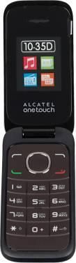 Мобильный телефон Alcatel OneTouch 1035D темно-коричневый