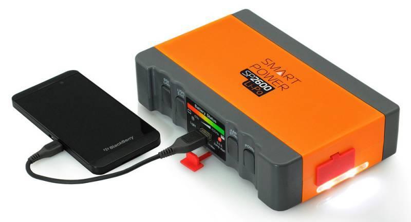 Пуско-зарядное устройство Berkut SMART POWER SP-2600 - фото 3
