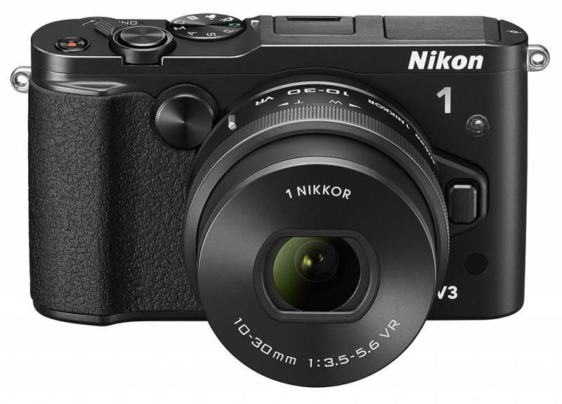 Фотоаппарат Nikon 1 V3 kit черный - фото 1