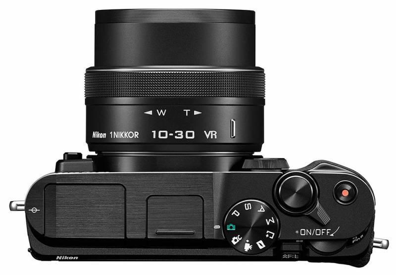Фотоаппарат Nikon 1 V3 kit черный - фото 2