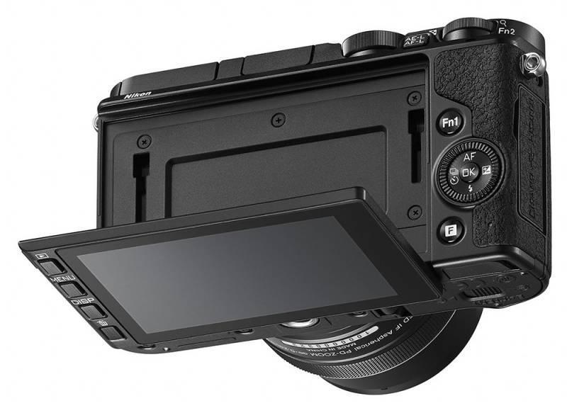 Фотоаппарат Nikon 1 V3 kit черный - фото 4
