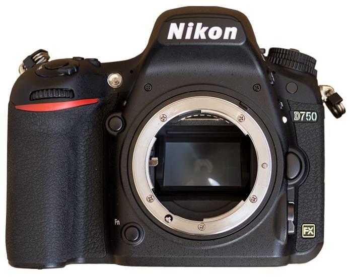 Фотоаппарат Nikon D750 BODY черный (VBA420AE) - фото 1
