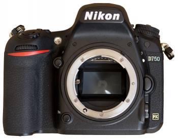 Фотоаппарат Nikon D750 BODY черный (VBA420AE)