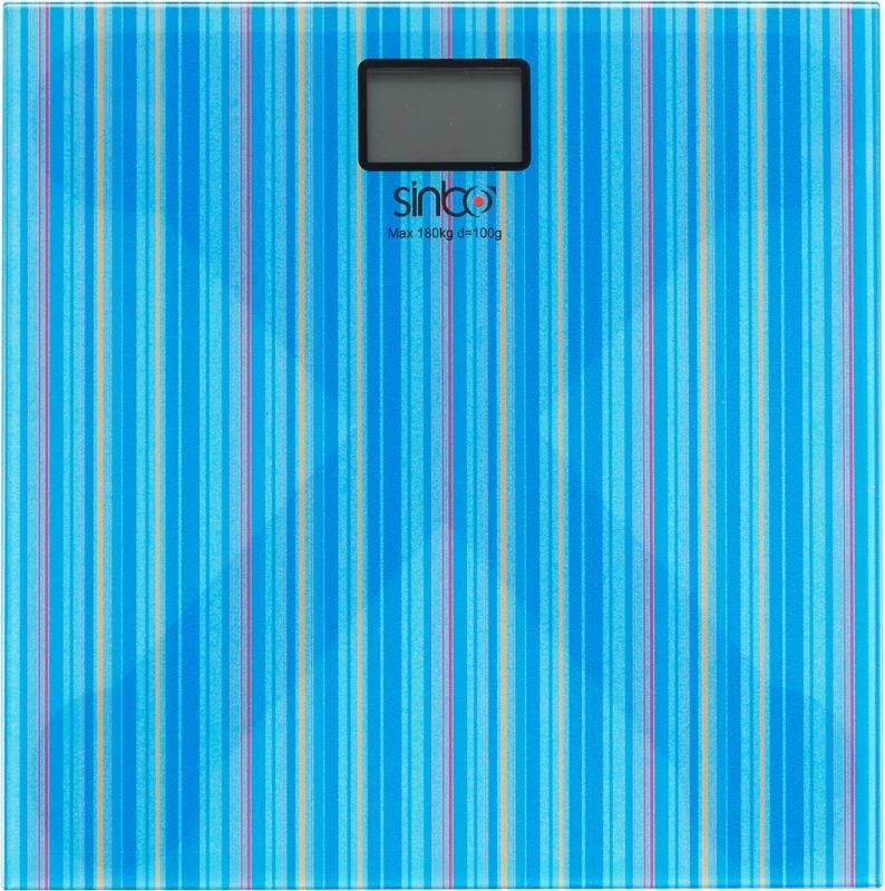 Весы напольные электронные Sinbo SBS 4429 синий - фото 2