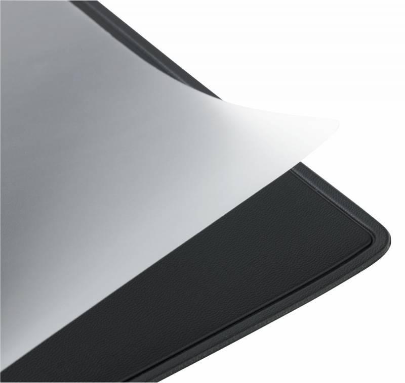 Настольное покрытие Alco 5533-11 50х65см с прозрачным верхним листом черный - фото 3