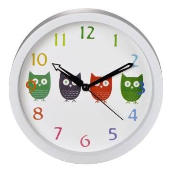 Настенные часы Hama Owls H-123168 аналоговые - фото 1