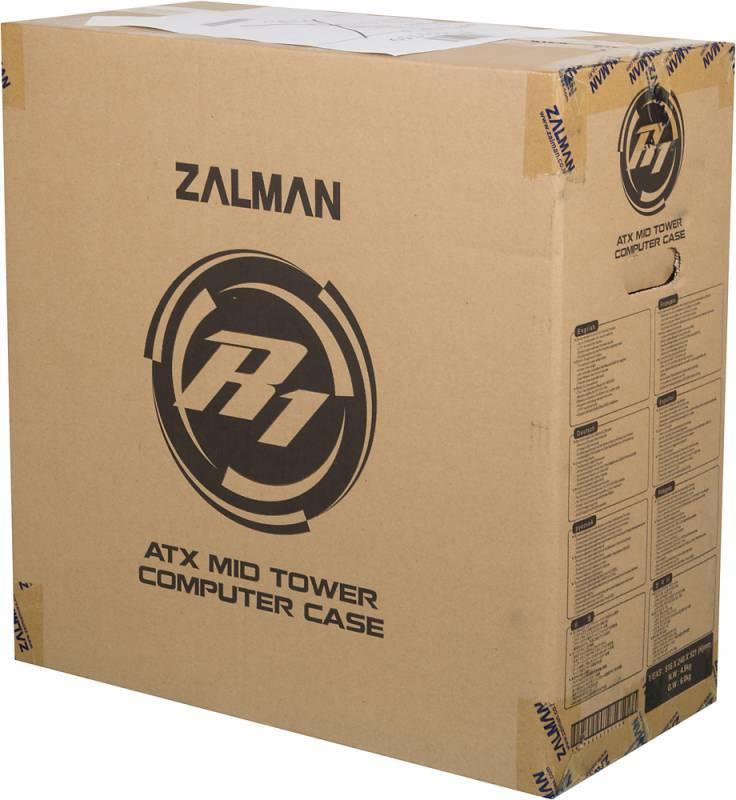 Корпус ATX Zalman R1 черный - фото 16