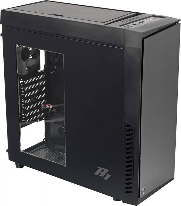 Корпус ATX Zalman R1 черный - фото 1