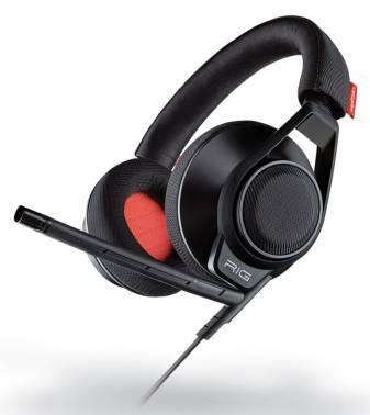 Наушники с микрофоном Plantronics RIG SURROUND черный