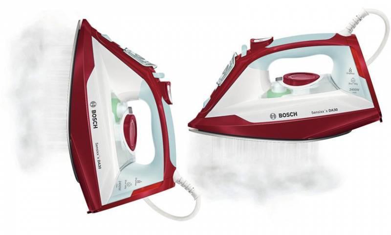 Утюг Bosch TDA3024010 белый/красный - фото 3