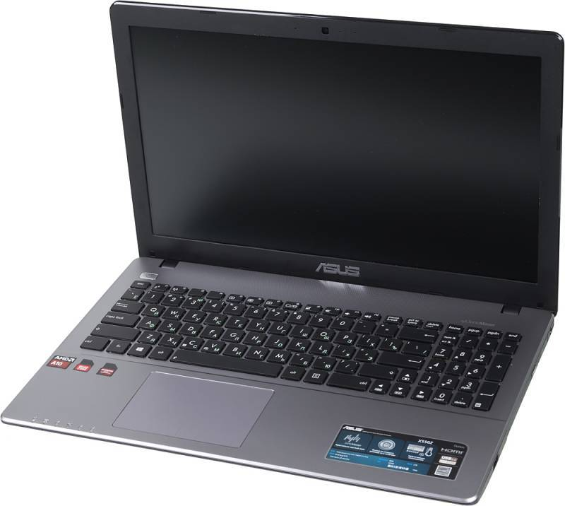 "Ноутбук 15.6"" Asus X550ZE-XO052H темно-серый - фото 1"