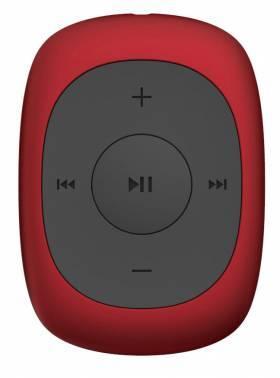 mp3-плеер 8Gb Digma C2 красный / черный