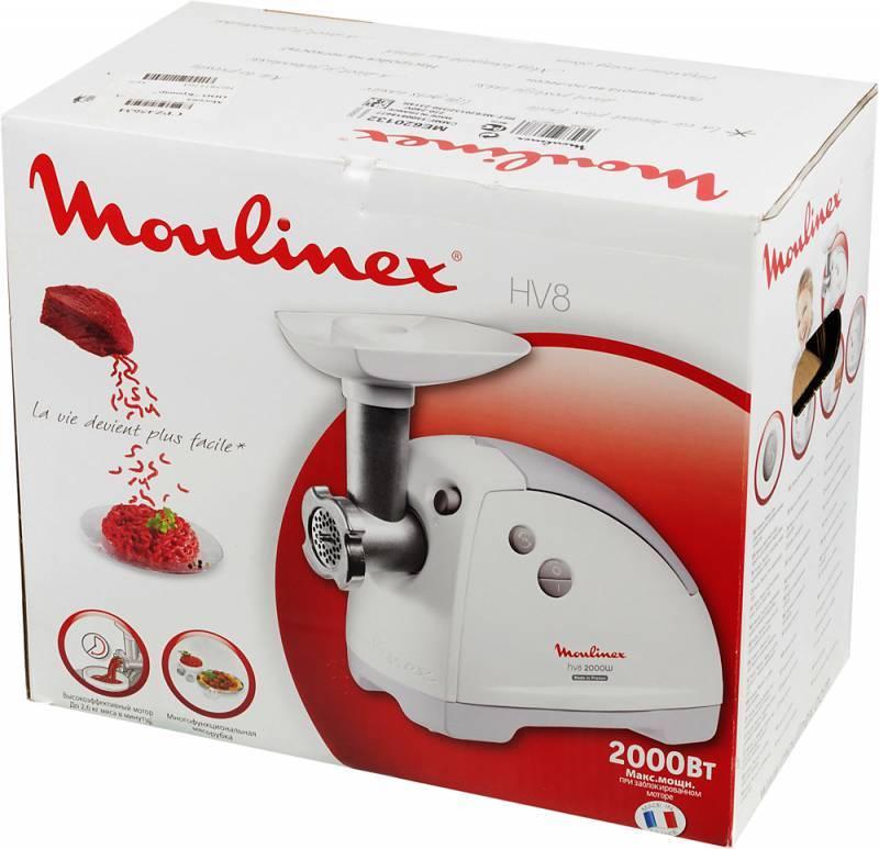 Мясорубка Moulinex HV8 ME620132 белый - фото 2