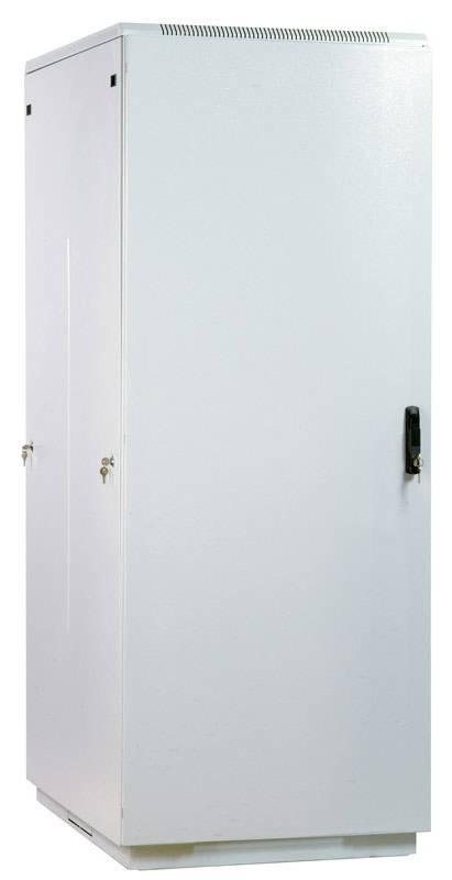 Шкаф комутационный ЦМО ШТК-М-47.8.10-3ААА 47U 800x1000мм пер.дв.стал.лист задн.дв.стал.лист 2 бок.пан. 600кг белый - фото 1
